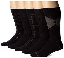 Docker's Men's Classics Dress Dobby Crew Sock