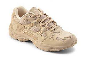 Vionic Women's Walker Classic Shoes, 7.5 C/D US, Taupe
