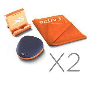 Activ5 Isometric Based Exercise - No Impact Muscle Activation - Portable Full-Body Workout and Strength Training
