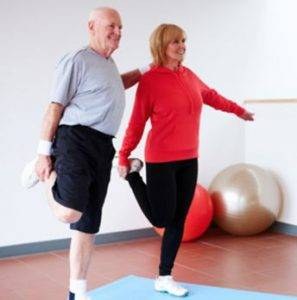 Firming Upper Arm Exercises for seniors.