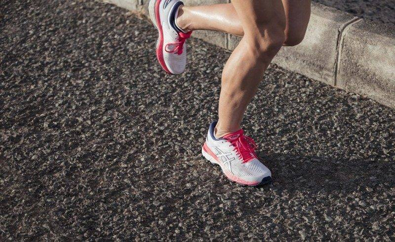 Running shoes for supination condition features