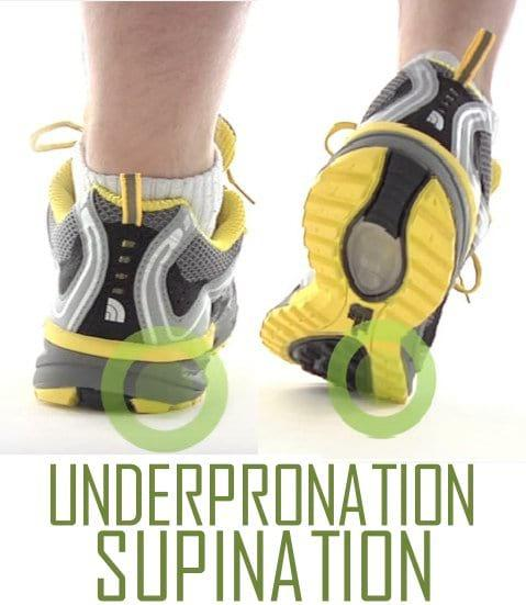 Shoes for supination runner