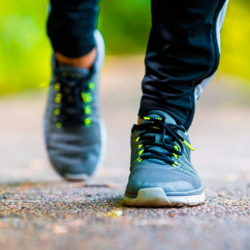How do I fix running supination?