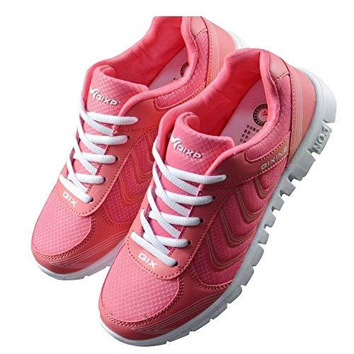 Fashion Brand Best Show Women's Athletic Mesh Breathable Sneakers Running Sports Shoes